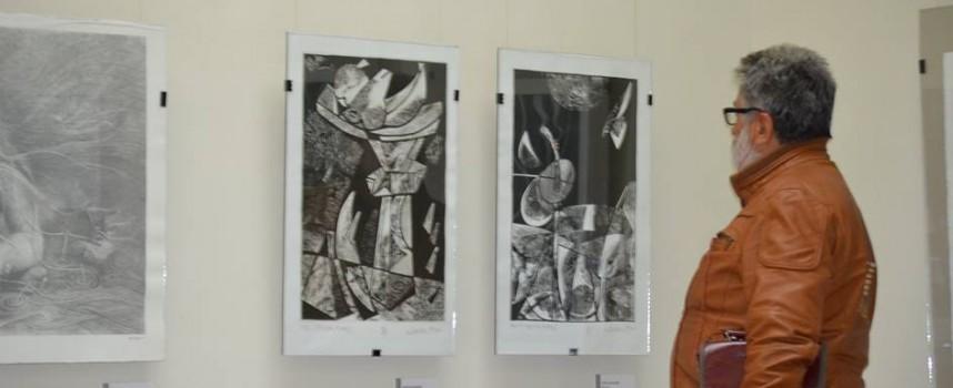 "Иди и виж: Националната графична изложба ""Георги Герасимов"""