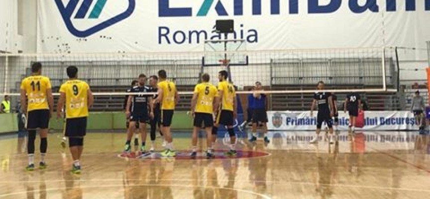 Волейболният Хебър се връща с трето място от турнира в Румъния