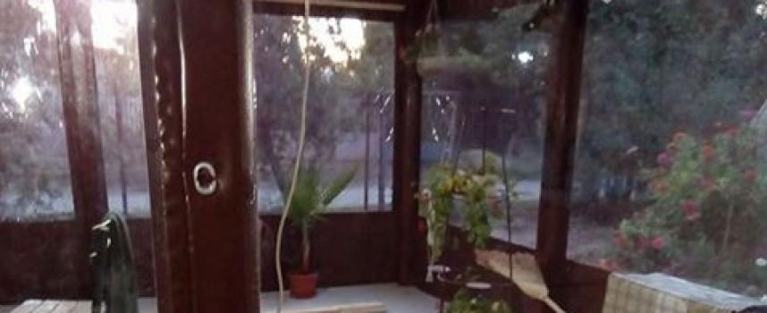 Запазете верандата суха и топла през зимата