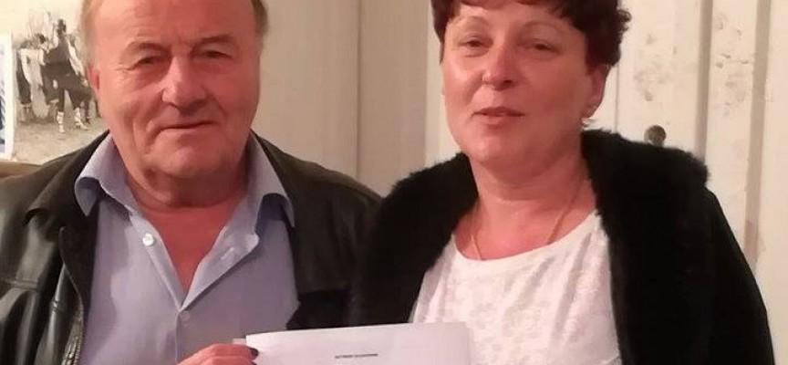 Даниела Малешкова с жест към фолклорната група от Симеоновец