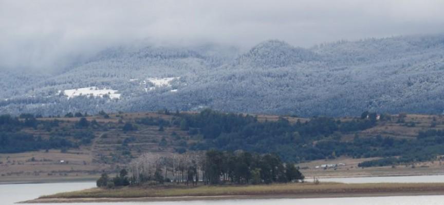 Първият сняг посипа високите части на областта, от утре температурите пак се покачват