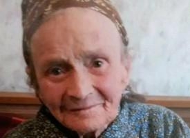 Баба Мария Вълкова от Калугерово днес стана на 100