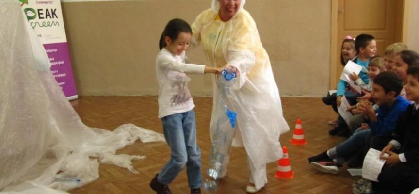 Лендарт и детска работилница предстоят в почивните дни по проект SPEAKGREEN