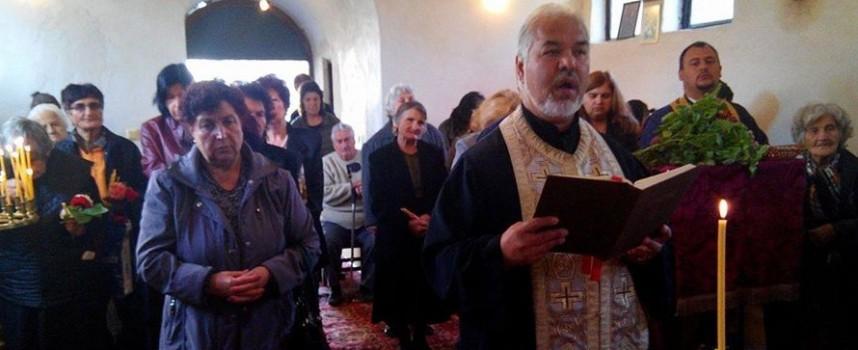 Вчера: Храмът в Злокучене почете своя закрилник