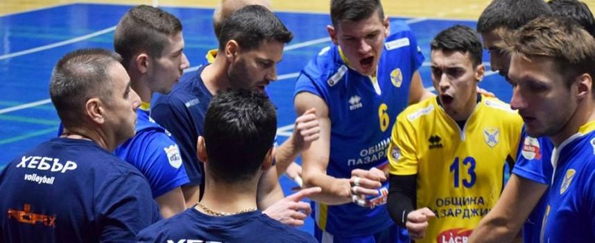 ВК Хебър играе контролите с ОАЕ в Самоков