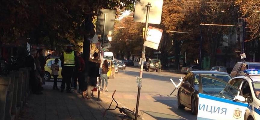 21-годишен от Динката е блъснал велосипедиста пред Математическата вчера