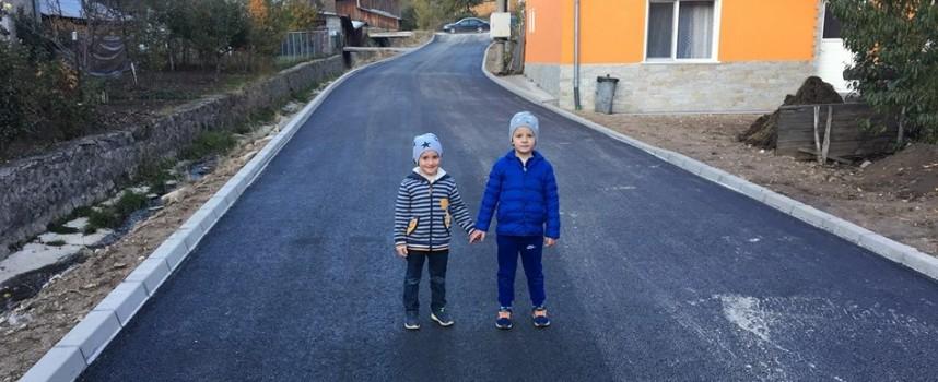 Сърница: Продължава обновяването на улици