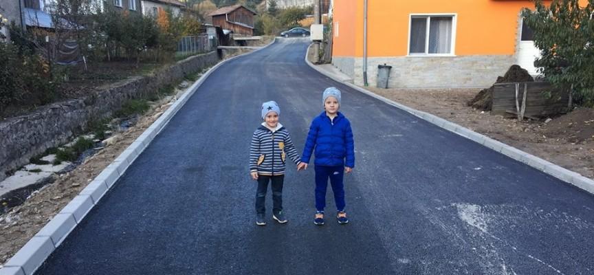 """12 улици в Сърница са реконструирани по проект с ДФ """"Земеделие"""""""