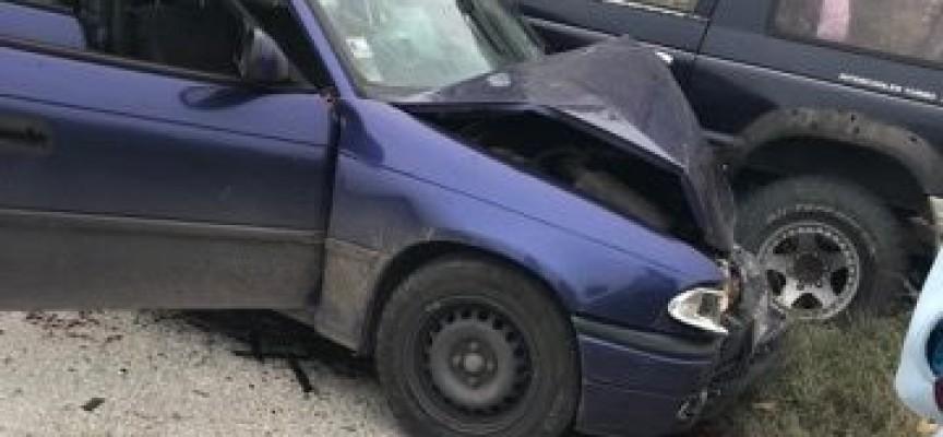 Пазарджишка и пловдивска кола се сблъскаха след 9-и километър