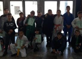 Джудистите и бадминтонистите на Спортното училище представиха достойно Пазарджик