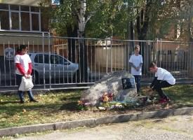 Паметна плоча на Апостола на свободата Васил Левски  бе открита в Панагюрище