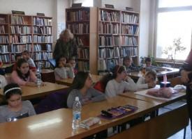 В Библиотеката: Деца си спомниха будителите от нашия край
