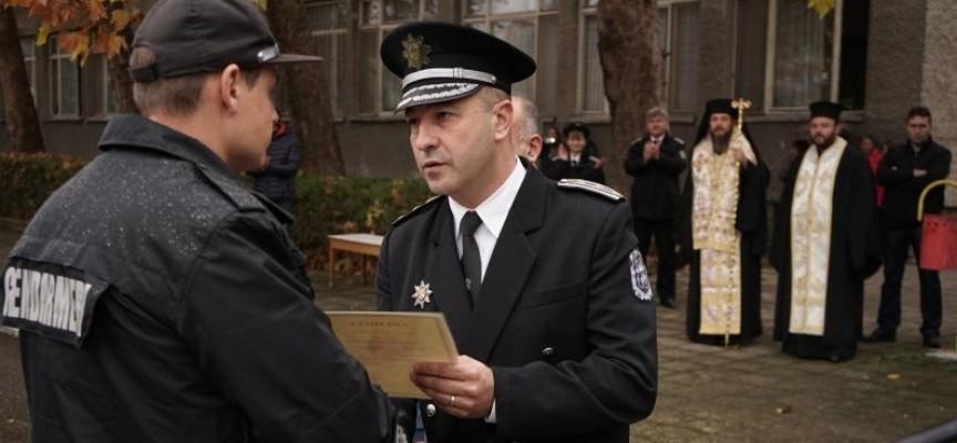 Пазарджик: 110 жандармеристи положиха клетва, поемат към Пловдив, Плевен и Кърджали