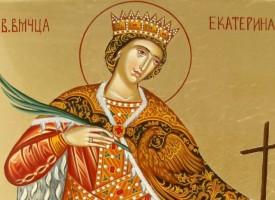 Почитаме пазителката на децата – Света Екатерина