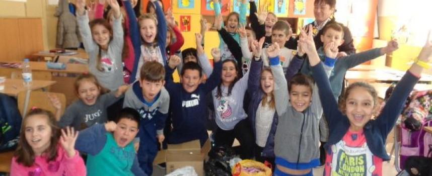 РИОСВ и две пазарджишки училища предадоха  227 килограма батерии за рециклиране
