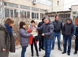 Виноградец: Стимулират интереса към тежка професия с багер