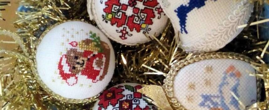 21 дни остават до Коледа: Направете си бродирани играчки за елха в Батак