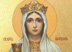 Отдаваме почит на Света Варвара, ето каква е нейната история