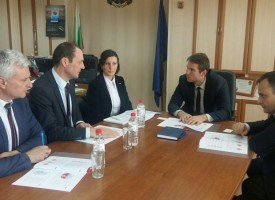 Стефан Мирев и Йордан Кожухаров се срещнаха с ръководството на EVN България