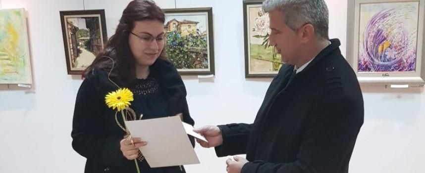 Преди Рождество: Николай Зайчев откри 48-та изложба на художниците в Пещера