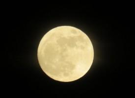 Годината започна с пълна Луна, вижте месечината