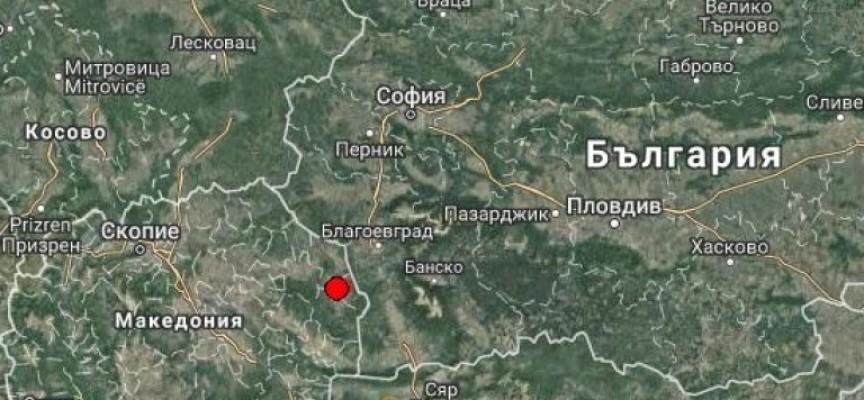 Земетресение събуди Велинград и Пазарджик тази сутрин