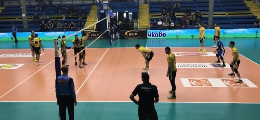 Купата на България: ВК Хебър е на полуфинал, победи Миньор с 3:1