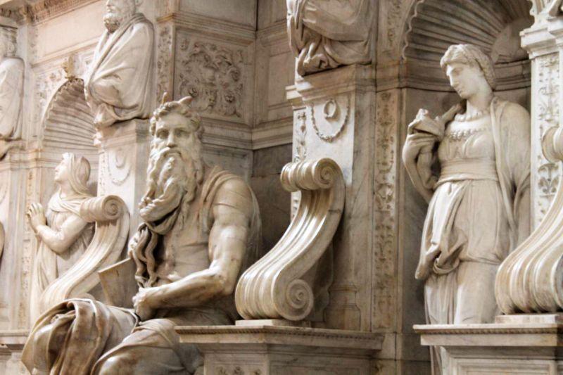 16San-Pietro-in-Vincoli4 - моисей