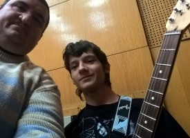 """Пазарджишкият талант Борис Гроздев гостува в БНТ, утре свири на матинето на """"Зимни""""-те"""