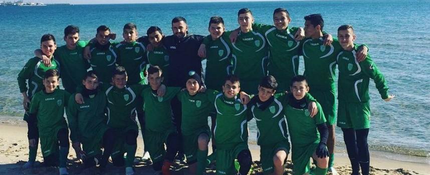 Юношите на ФК Хебър също бяха на лагер, но в Несебър