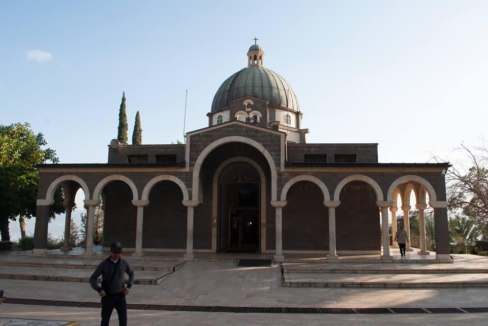 10осмоъгълната църква на Галилейското езеро