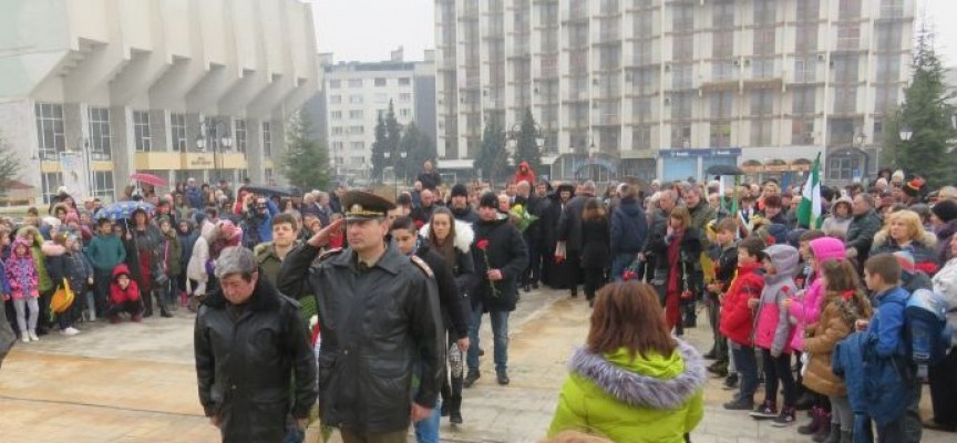Поклон за Васил Левски – истинското име на съвестта
