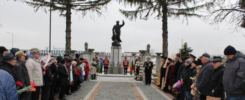 Офицерите от запаса почетоха паметта на загиналите от 27-и Чепински полк