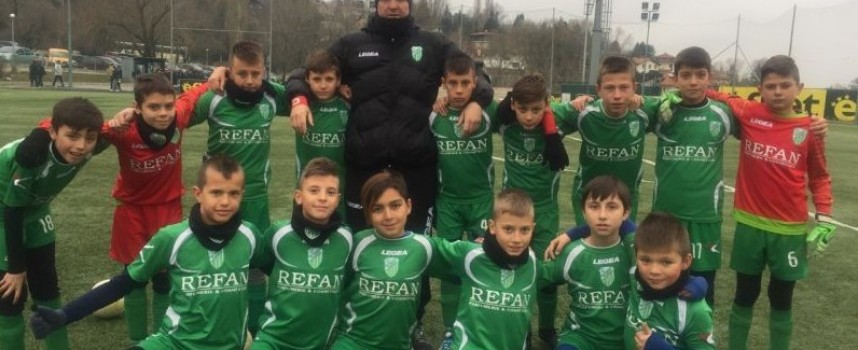 Деца от школата на Хебър с трето място на Sofia Cup