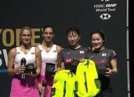 Стоеви завоюваха среброто на открития шампионат на Швейцария по бадминтон