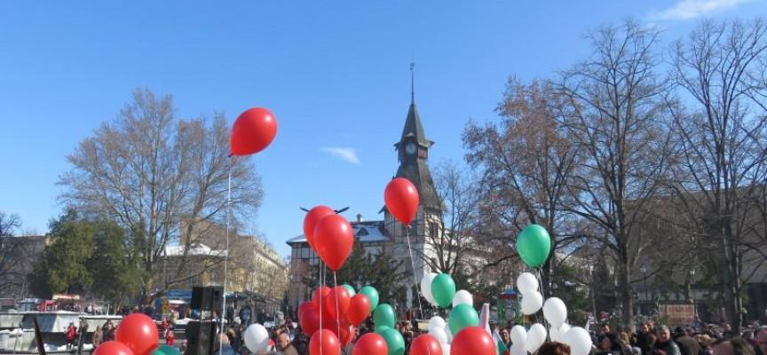 Пазарджик: Невероятен концерт на площада, Тодор Попов с вдъхновяващо слово