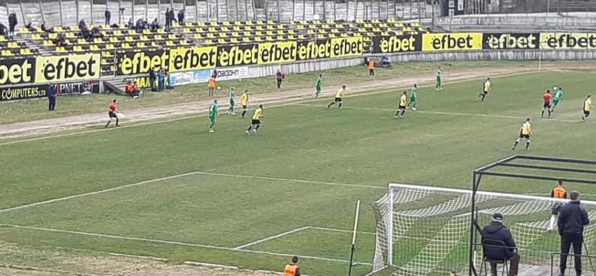 Добрата серия продължава: ФК Хебър победи Миньор в Перник