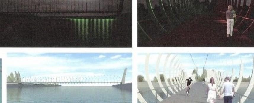 УТРЕ: Кметът Тодор Попов казва за новия пешеходен мост на Острова