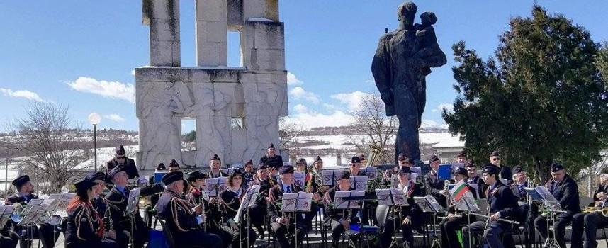 Ето как Националният бенд на карабинерите от Лацио се озова в Лесичово навръх 3-ти март