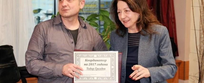 """Тодор Гроздев стана носител на приза """"Координатор на годината"""" от """"Достъп до информация"""""""