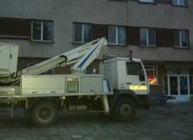 Община Сърница се сдоби с автовишка