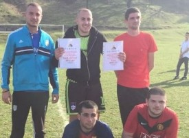 Благотворителен футболен турнир събра 1237 лв за Росен Йорданов