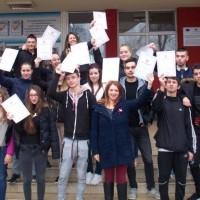 Ученици от Икономиката с престижно класиране в състезание по митнически и данъчен контрол