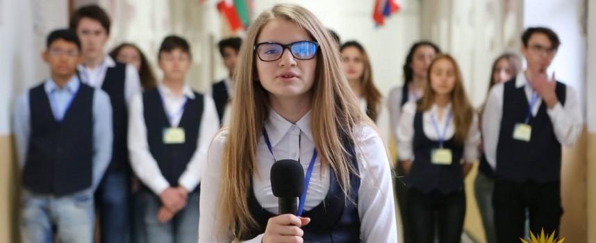 """Петър Корумбашев връчва удостоверенията на новите младши посланици в """"Иван Аксаков"""""""