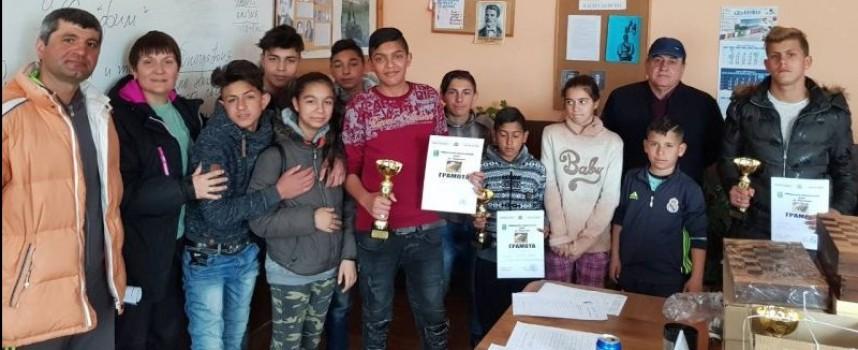 Ракитово: Oбщински турнир по шахмат се проведе днес