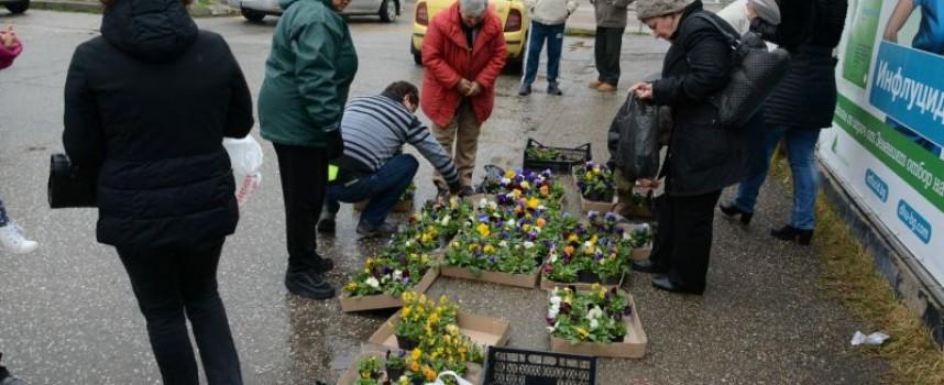 За пети път: Тази събота предаваме смет – получаваме цветя и фиданки