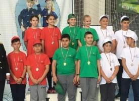 Пазарджишките деца с първо място в състезанието на Детските полицейски управления в София