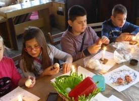 Великденската работилница събра деца от Пазарджик, Музеят почива от Разпети петък до Светли понеделник