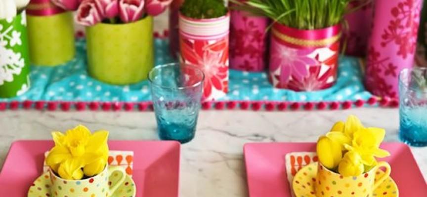Как да подредим празничната маса?
