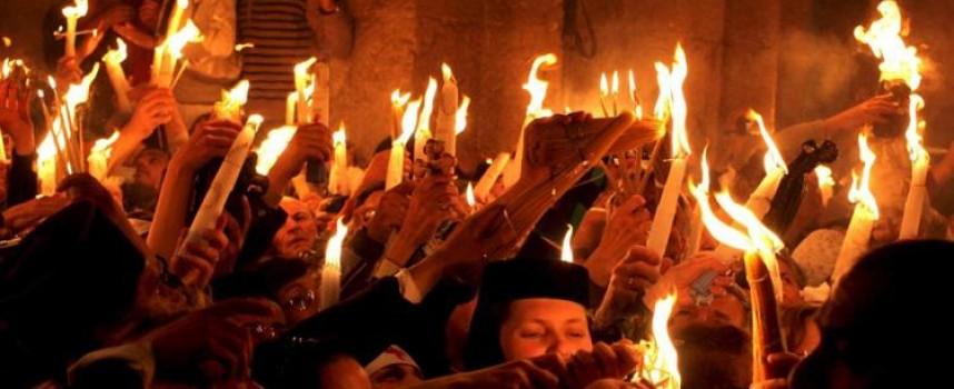 Константийският епископ Яков ще предаде Благодатния огън на свещениците